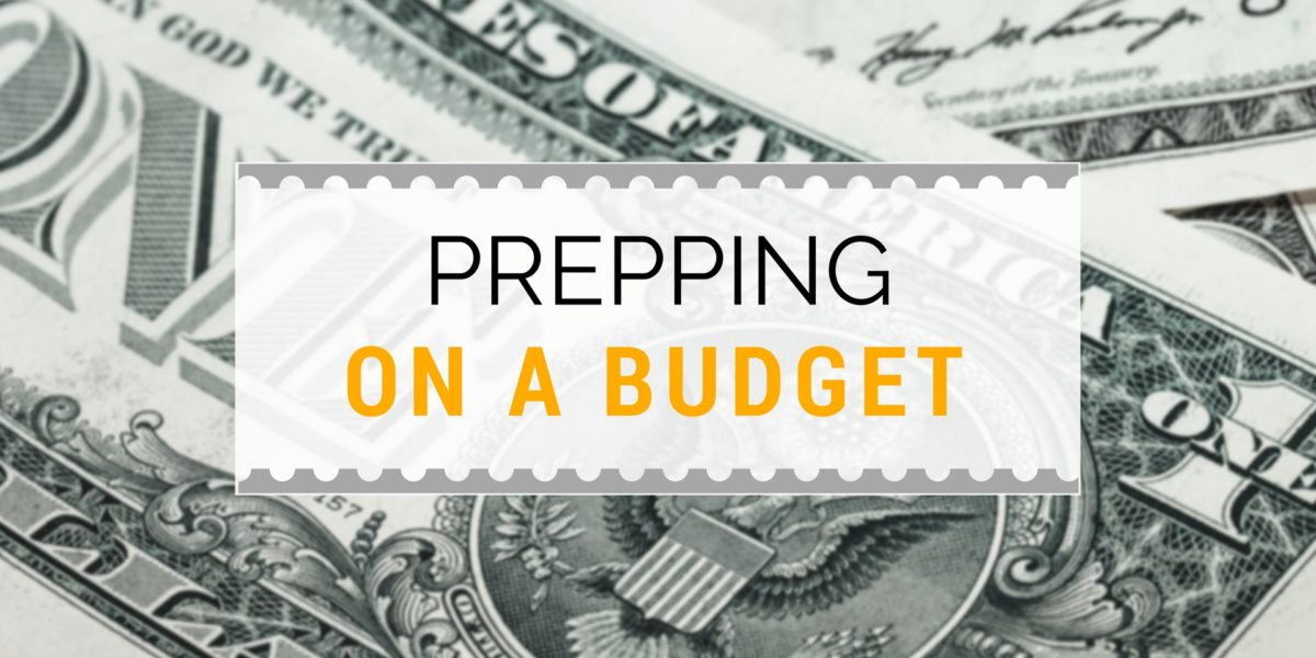 How to Prep on a Budget